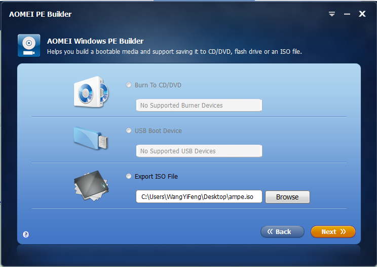 AOMEI PE Builder Review - Create Customized Bootable Environment